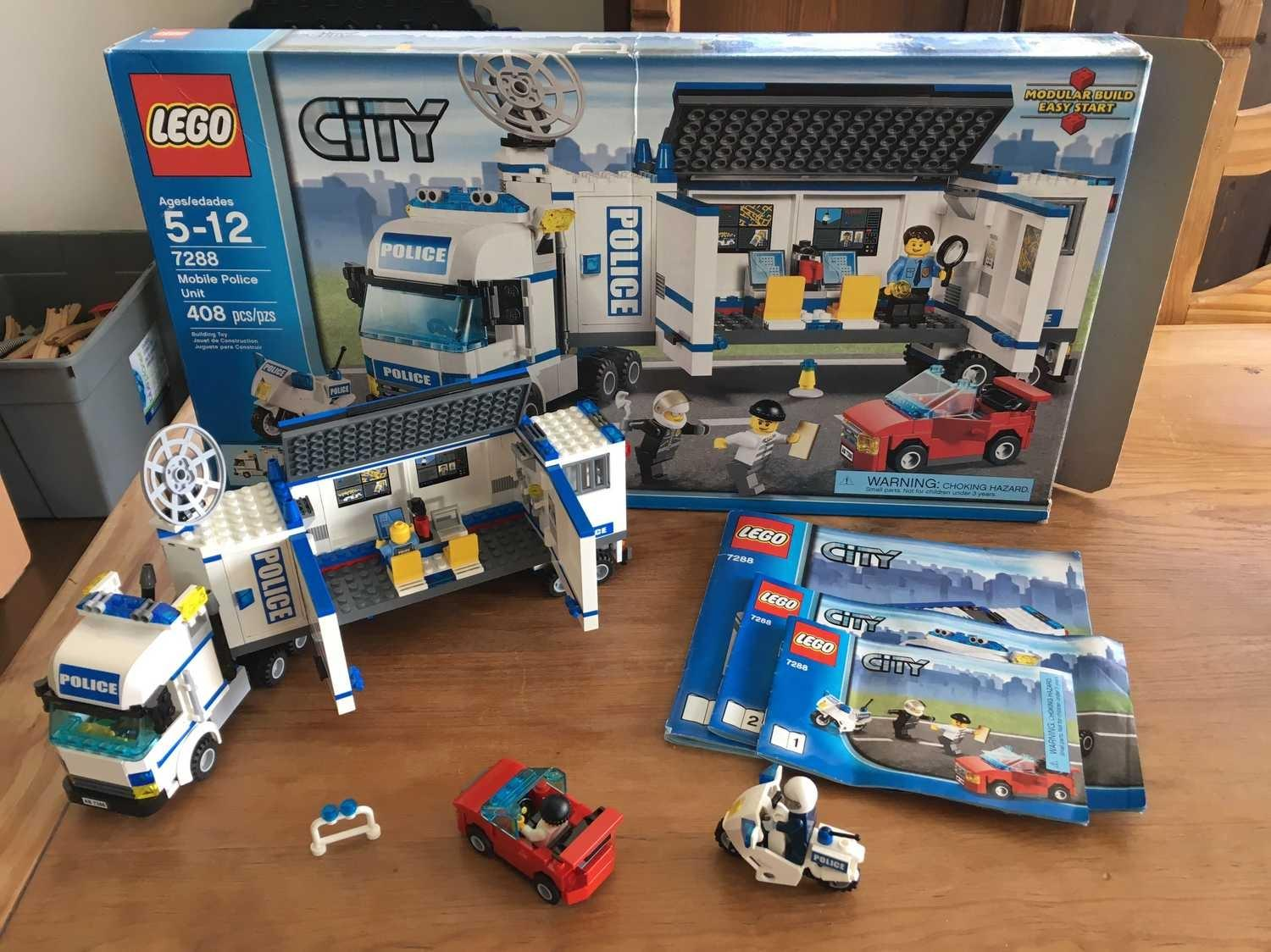 Find More Lego 7288 Mobil Police Unit For Sale At Up To 90 Off