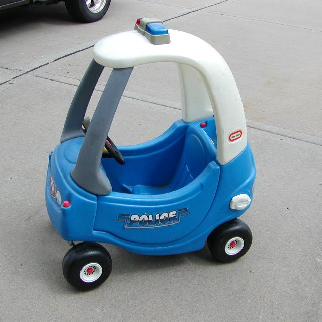 Find More Little Tikes Cozy Coupe Police Car Patrol Cop
