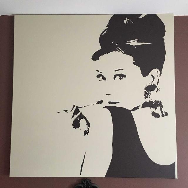 Best Audrey Hepburn Canvas for sale in Yorkville, Ontario for 2018