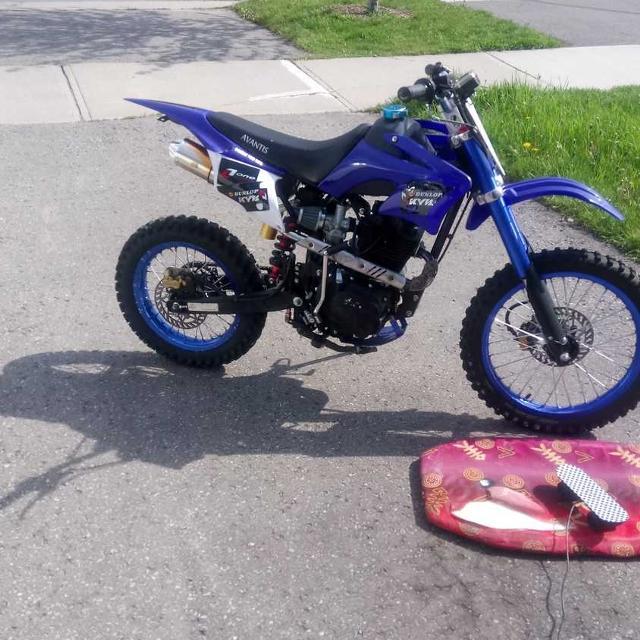 Avantis 250cc dirt bike