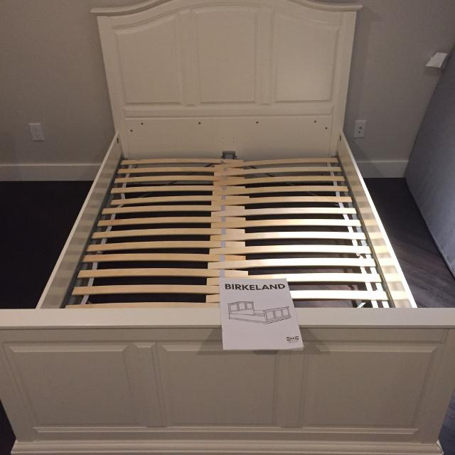 Brand New Ikea Birkeland Discontinued Full Bedframe Bed