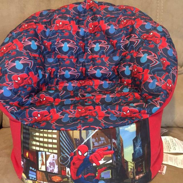 New Kids Spider Man Bean Bag Chair