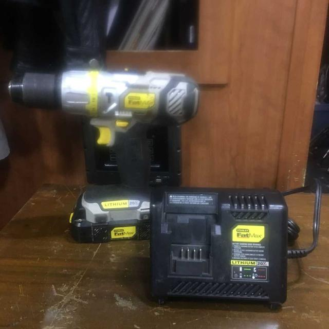 Yellow and black-colored stanley fatmax power tools now available.