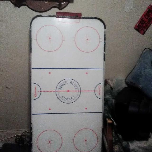 Power glide air hockey table for sale or trade