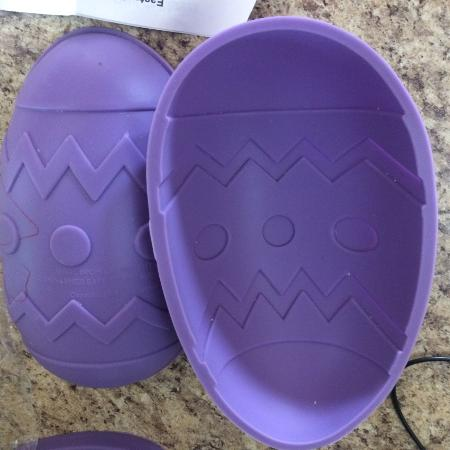 Silicone 3D Easter egg cake pan for sale  Canada