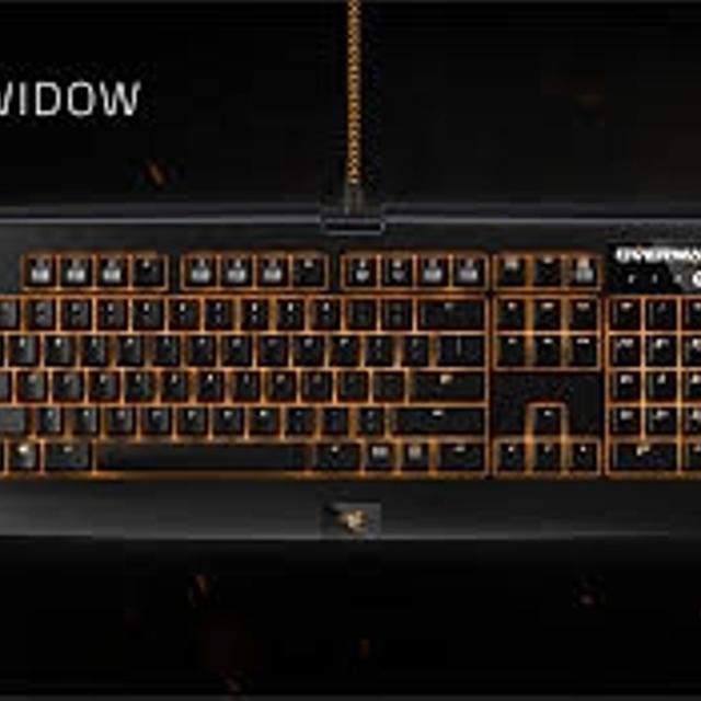 Overwatch Razer Blackwidow chroma keyboard