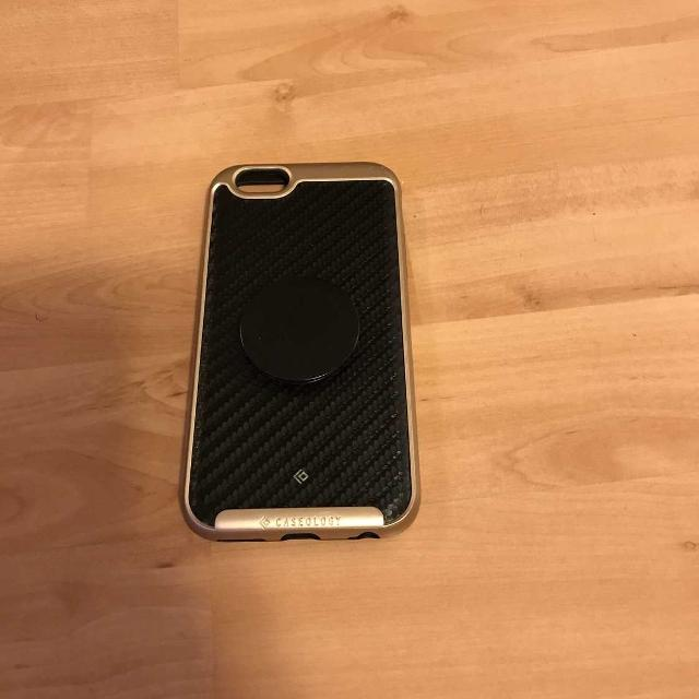 new style 57498 65ead iPhone 6 case with Popsocket