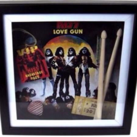 KISS - Love Gun 3D Wall Art... $75... for sale  Canada