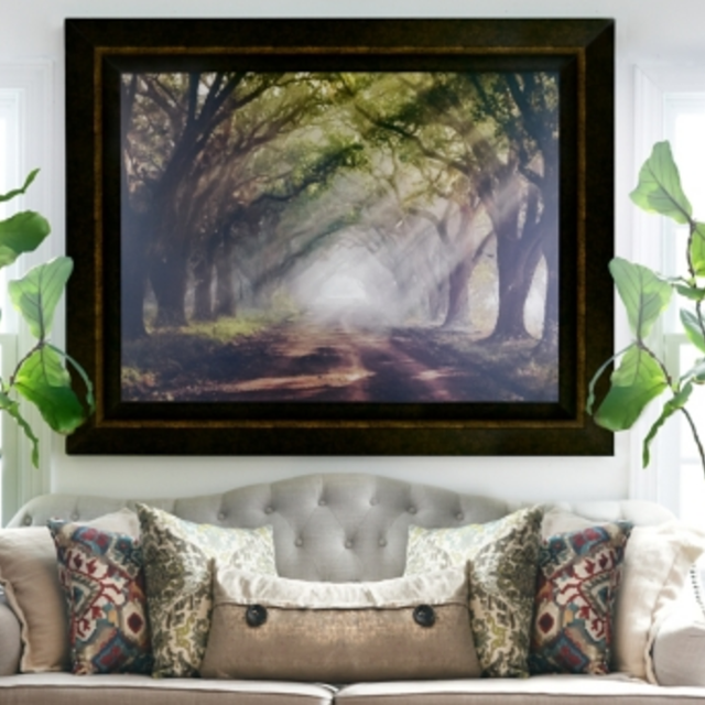 Find more Evergreen Plantation Framed Art Print for sale at up to 90 ...