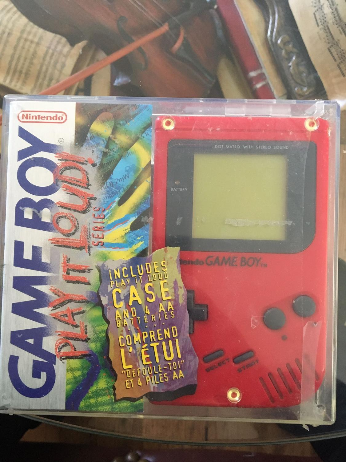 Best Game Boy Play It Loud Red Original Box for sale in Vaudreuil, Quebec  for 2019 ff653f80ed7