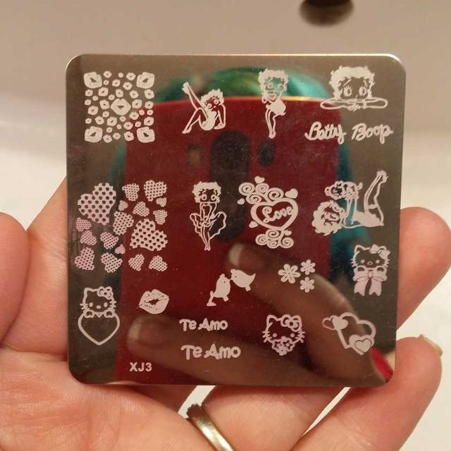 Find More Nail Stamping Plate Betty Boophello Kitty For Sale At Up