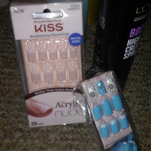 Best Selling The Lot Kiss New Acrylic Nude French Nails