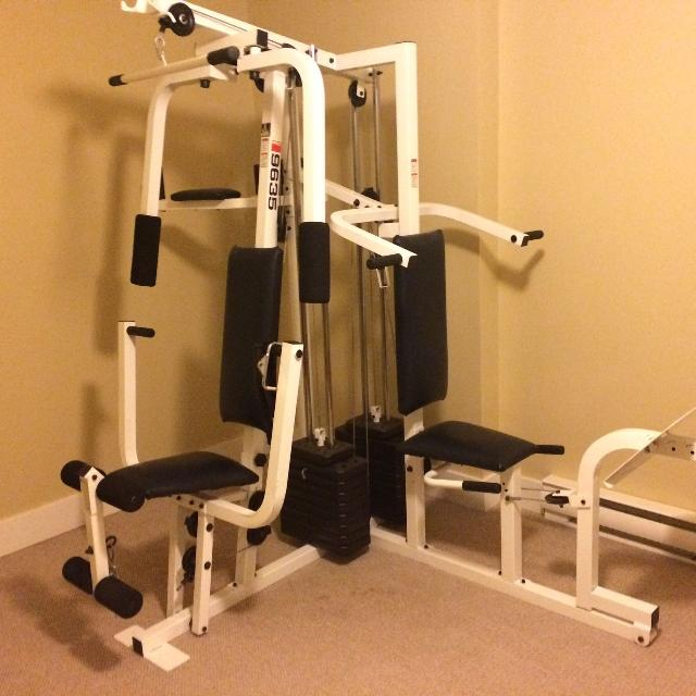 Weider pro 9635 exercise guide.