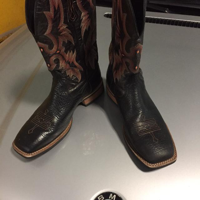 4f8fcee9ff8 Ariat tombstone cowboy boots