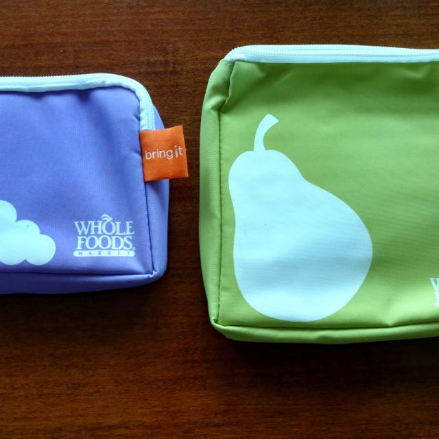 Whole Foods Reusable Lunch Bags