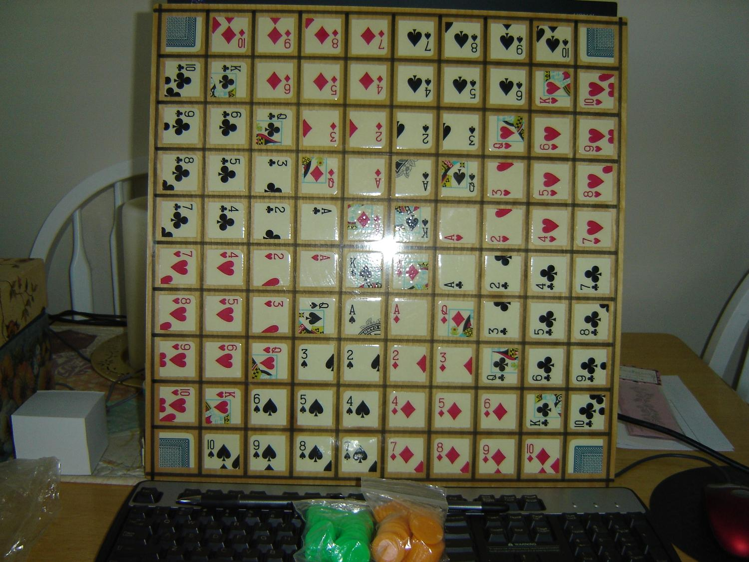 One Eyed Jack Board Game