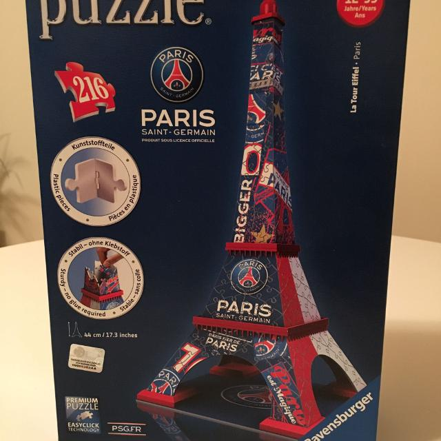 Best 3d Puzzle Psg Eiffel Tower For Sale In Montreal Quebec For 2020
