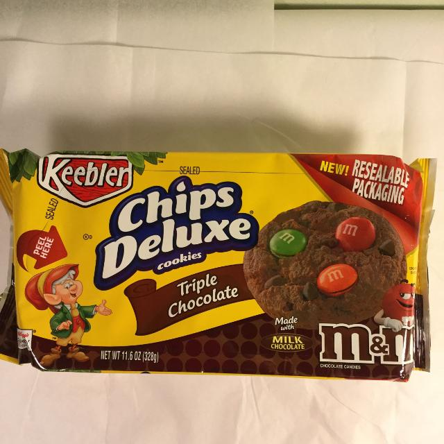find more keebler triple chocolate chips deluxe cookies for sale at