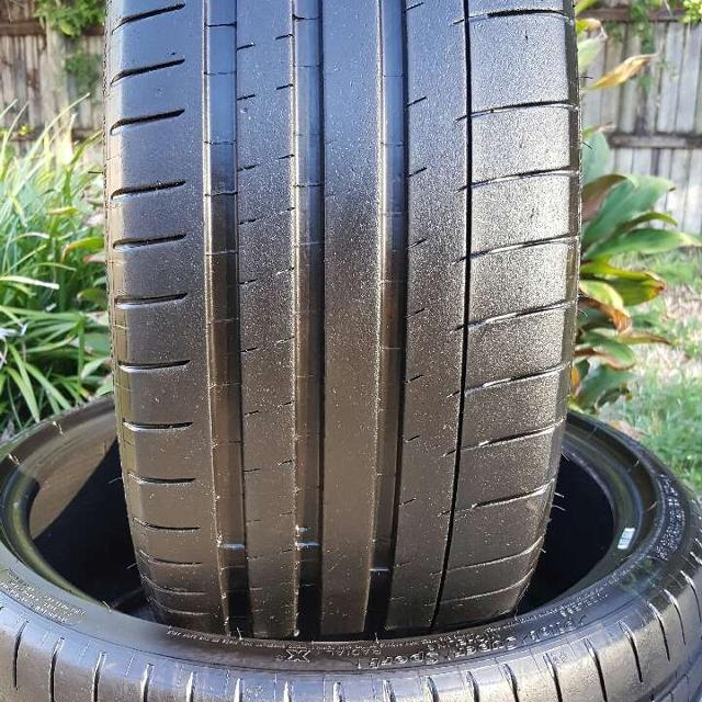 Used Tires Tampa >> 2 245 40 18 Michelin Pilot Super Sport Used Tires