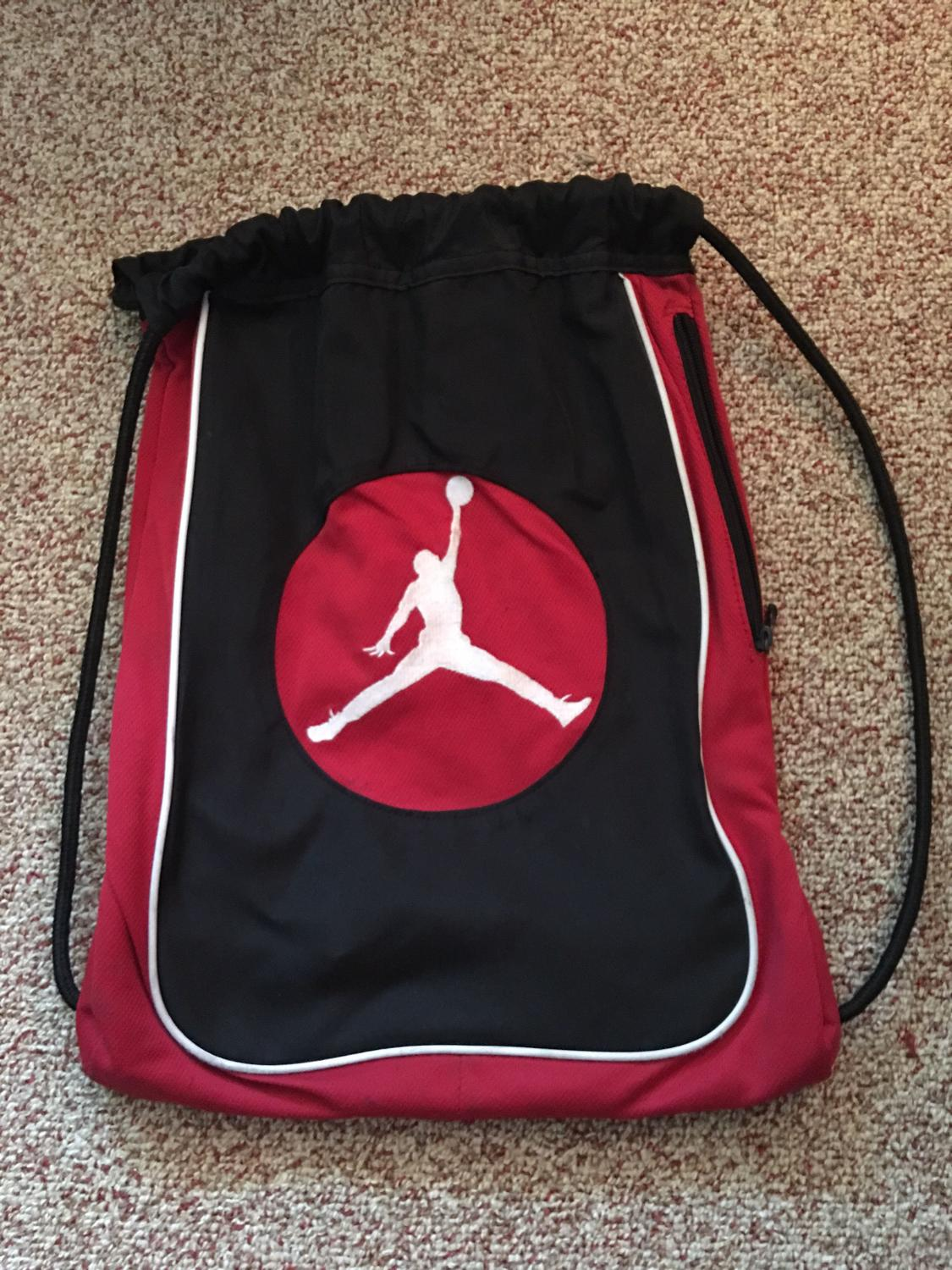 2fbb56aa5509 Find more Air Jordan String Backpack for sale at up to 90% off