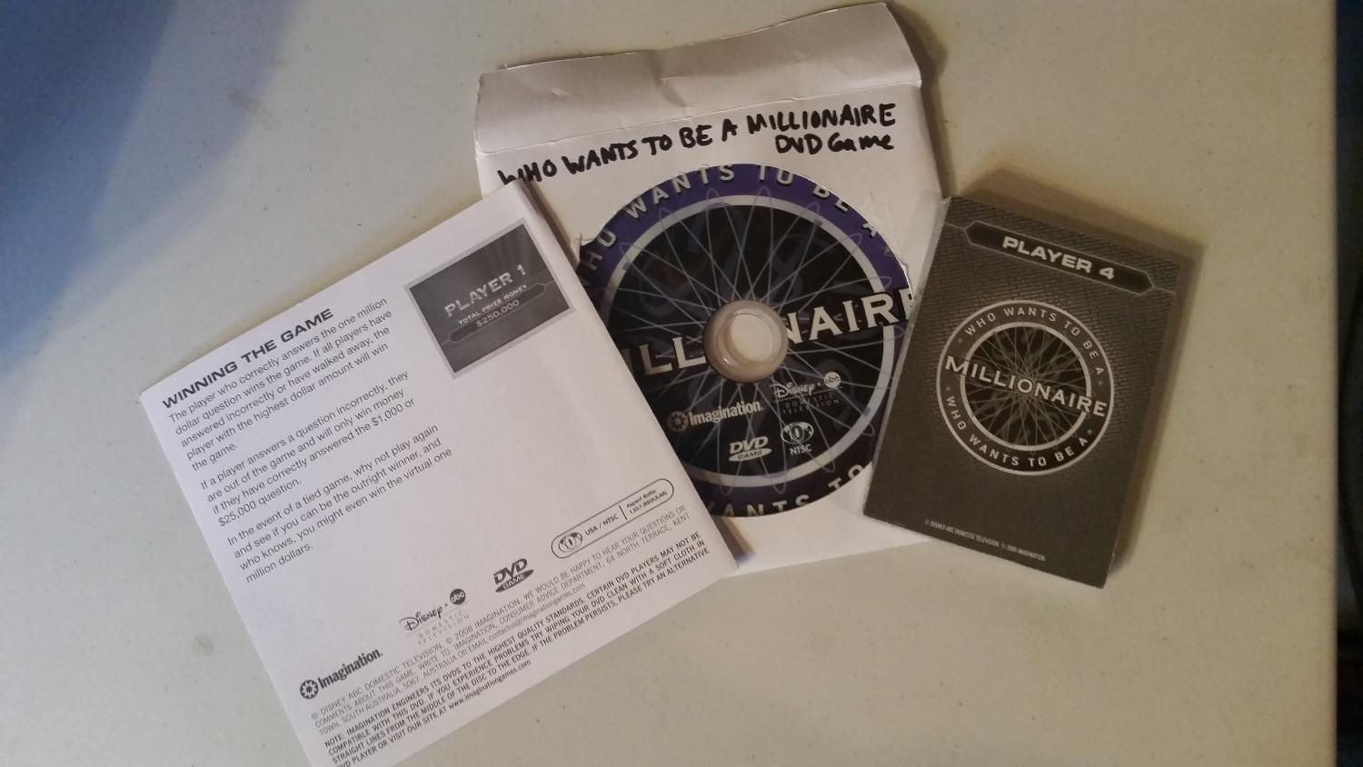 Best Who Wants To Be A Millionaire Dvd Game For Sale In