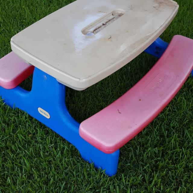 Find more kids little tikes picnic table for sale at up to 90 off kids little tikes picnic table watchthetrailerfo