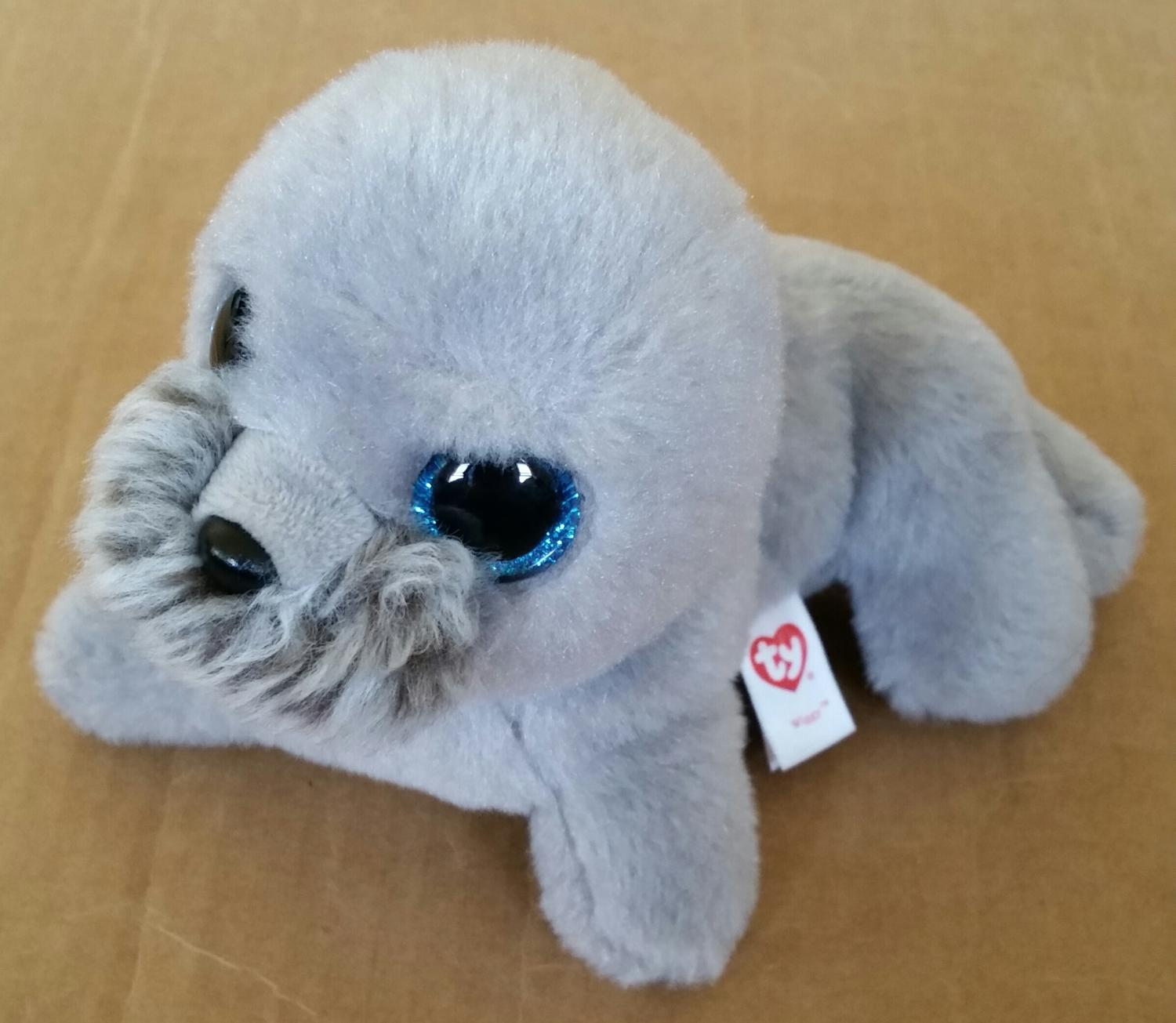 Find more Beanie Boo Gray Walrus Wiggy for sale at up to 90% off 83f6a915cc2