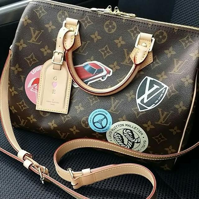 f0c3f25041f5 Find more Authentic Louis Vuitton Speedy Bandouliere 30 Limited ...