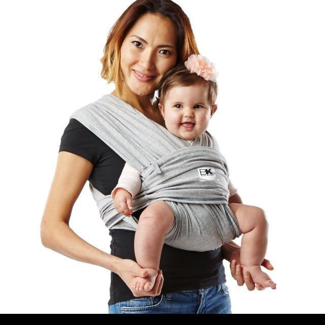 bbacded25be Find more Baby K tan Original Stretchy Carrier for sale at up to 90% off -  Nanaimo