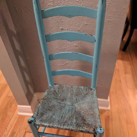 Beautiful antique ladderback chair for sale  Canada