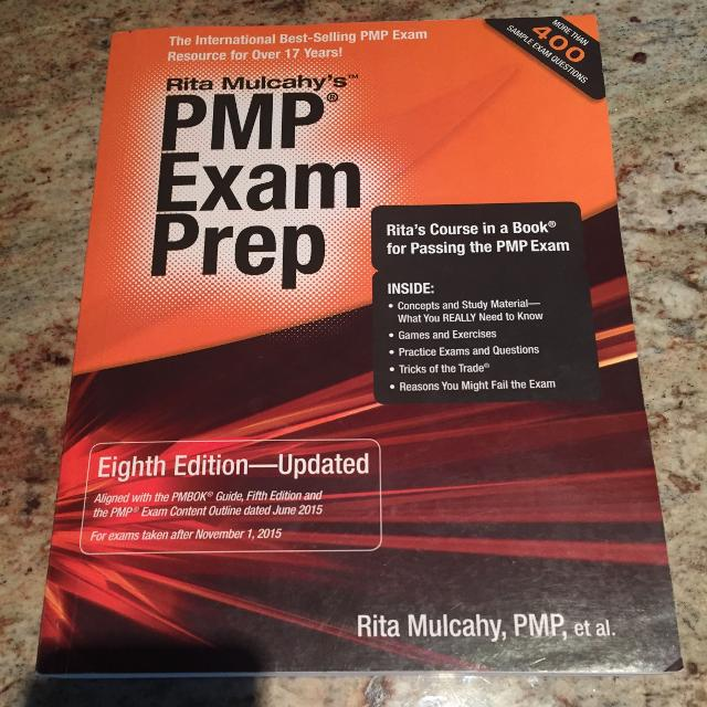 Find More Pmp Exam Prep Rita Mulcahy 8th Edition Updated Latest