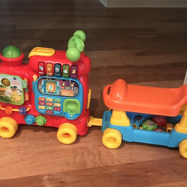 Best Euc Vtech Ultimate Alphabet Train Pu Near Helena Or Willing