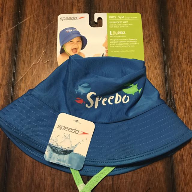 7125276c3 NWT Speedo Kids S/M UV50+ Bucket Hat