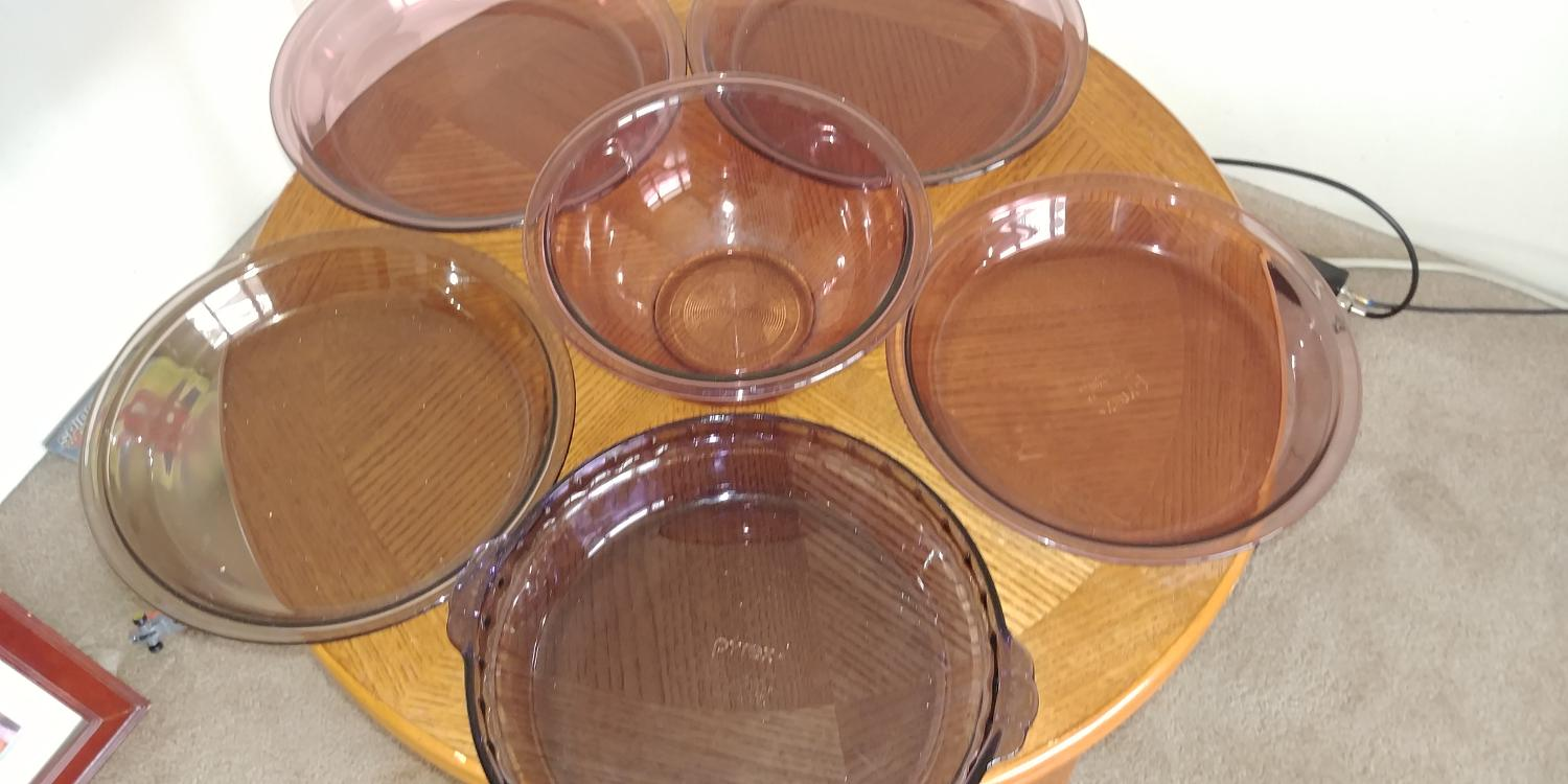Find More Pyrex Baking Dishes 7 Pieces For Sale At Up To