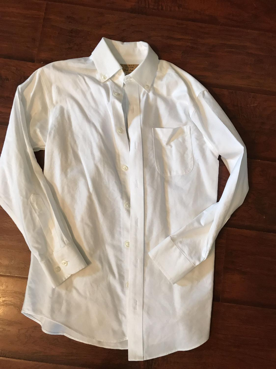 Find More Dillards White Dress Shirt Eeuc For Sale At Up To 90 Off