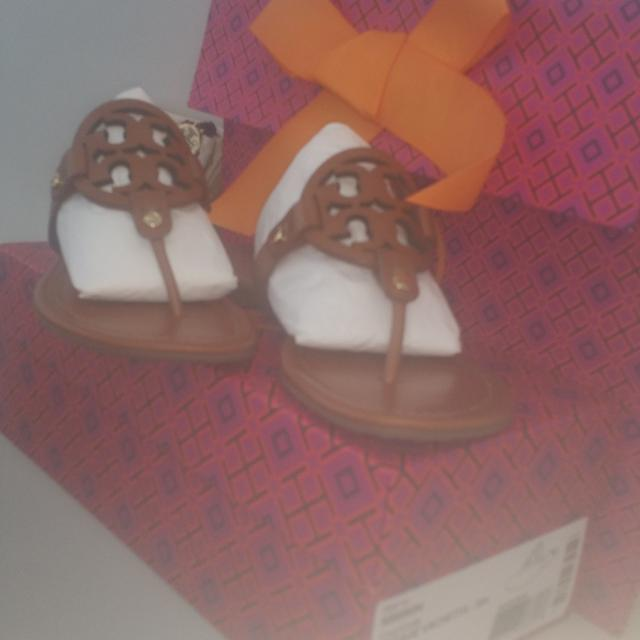 ae86d8b45dcf Best Tory Burch Miller Sandal In Vintage Vachetta Size 7 for sale in  Penhold
