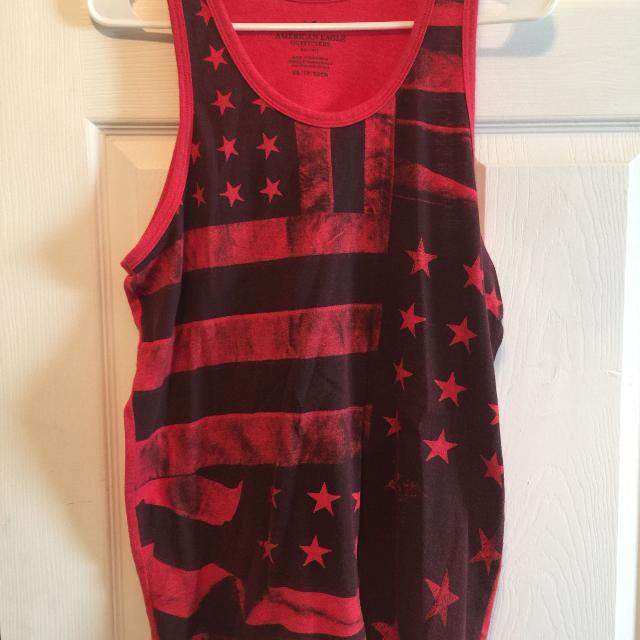 9891099382cbe Find more 2 Mens American Eagle Tank Tops Size Small for sale at up ...