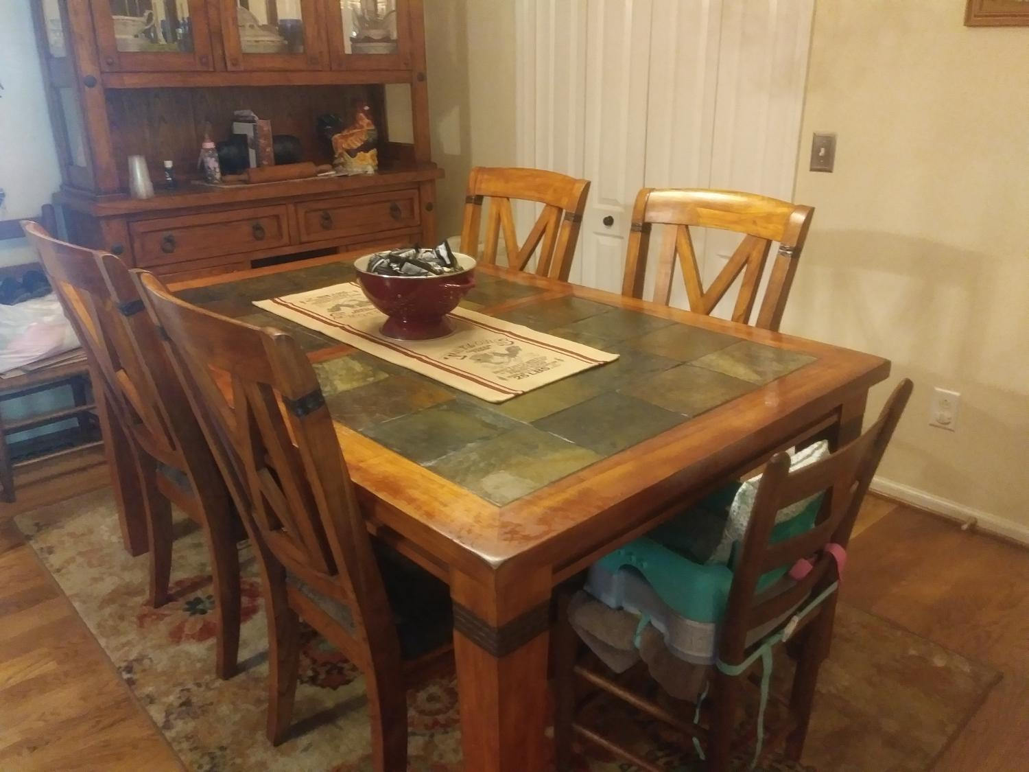 Best Dining Set And China Hutch For Sale In Spring Hill Tennessee For 2021