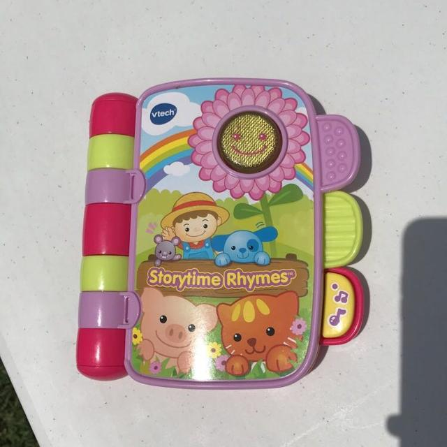 Find More Vtech Storytime Rhymes Talking And Sing A Long Booksmall