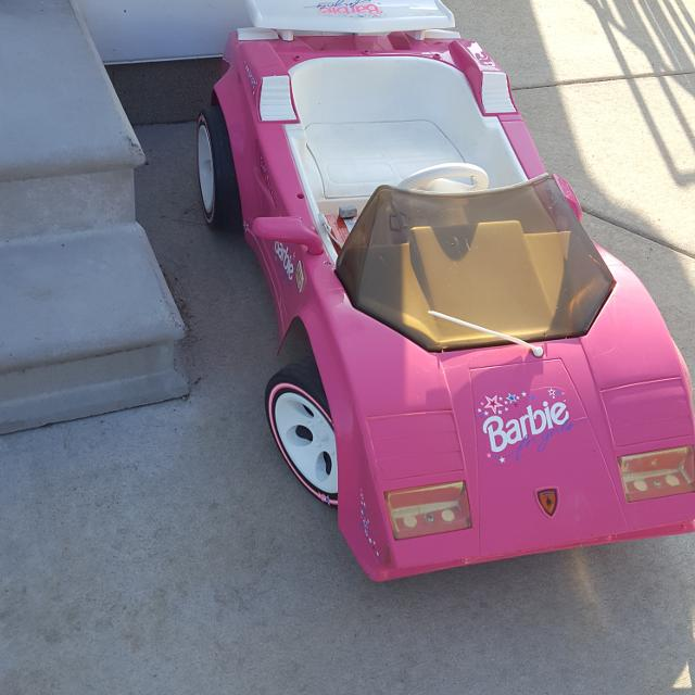 find more barbie lamborghini power wheels for sale at up to 90% off