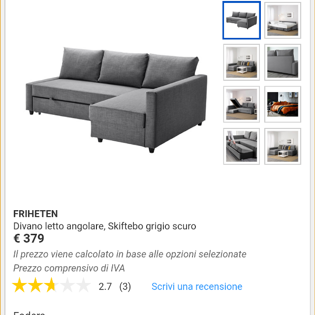 Friheten Divano Letto Angolare.Find More Brand New In Boxes Sectional Sleeper Sofa For Sale At