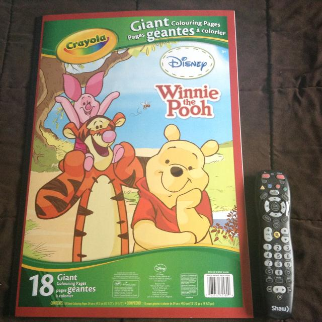 Best Giant Winnie The Pooh Coloring Book for sale in Airdrie ...