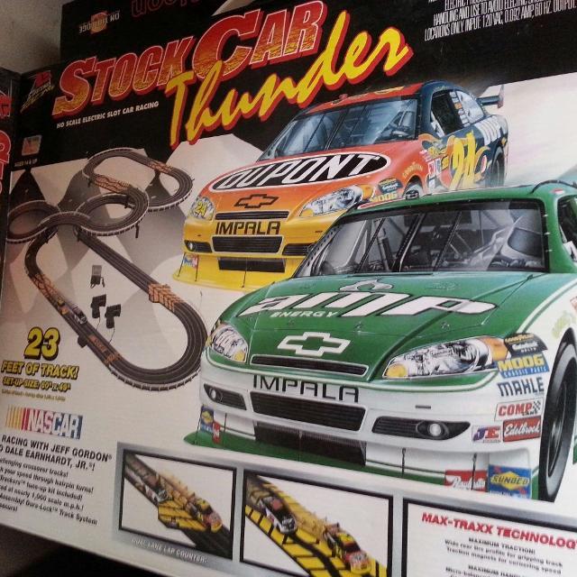 Best Life Like Stock Car Thunder Nascar Electric Slot Race Set For In Durant Oklahoma 2019