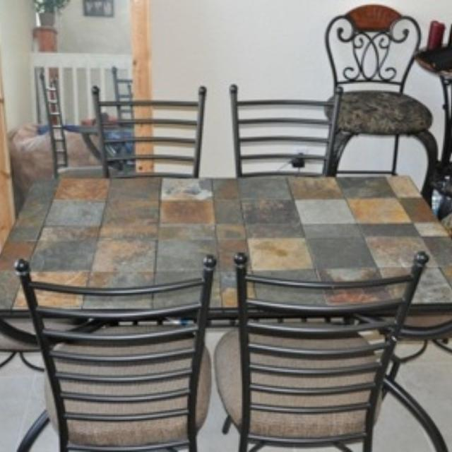 Best Ashley Brand Antigo Dining Room Table For Sale In Durant