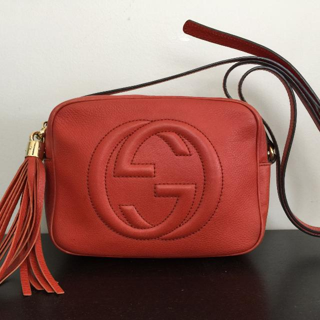 ddf767e527ca Find more Authentic Gucci Soho Disco Crossbody for sale at up to 90% off