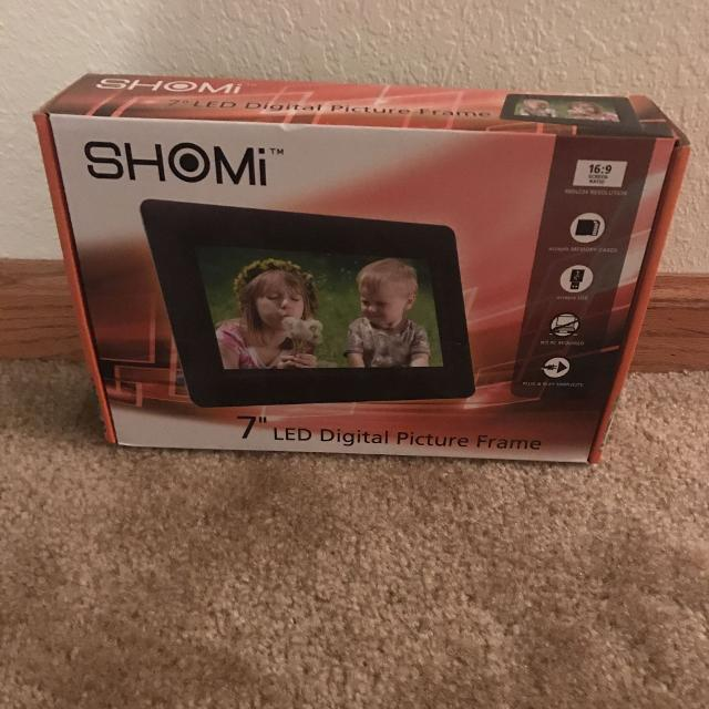 Find More Shomi 7 Led Digital Picture Frame For Sale At Up To 90 Off