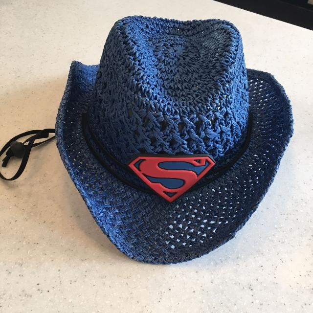 Superman cowboy hat size kids 4-6 years 209a2010fe3