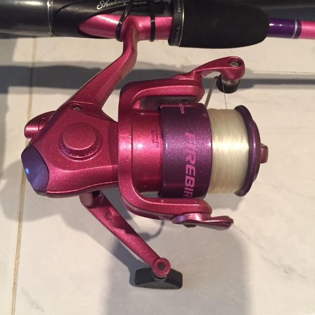find more fishing rod and reel shakespeare firebird for sale at up