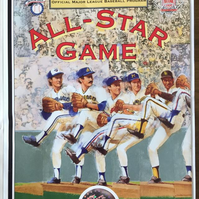 1991 MLB All-Star Game Program - Toronto