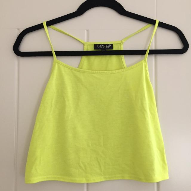 23c8e4c2269 Best Topshop Yellow Swing Crop Top With Racerback for sale in Calgary,  Alberta for 2019